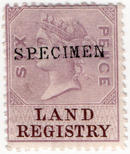 (21) 6d Lilac & Brown (1873)