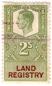 (117) 2/- Green & Brown (1947)