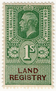 (111) 1/- Green & Brown (1921)