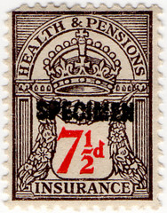 (45) 7½d Brown & Red (1941)