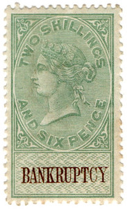 (60) 2/6d Brown & Green (1878)