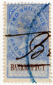 (60) 2/6d Blue & Brown (1878)
