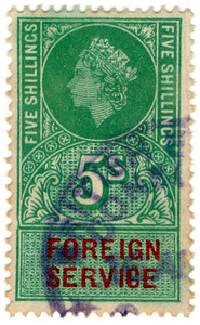 (24) 5/- Green & Brown (1959)