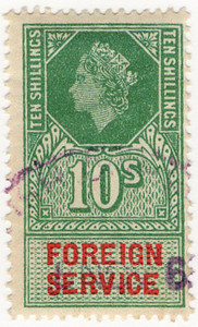 (27) 10/- Green & Brown (1959)